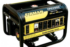 Бензиновый генератор  FIRMAN 2,8 кВт, 50кг 2gDr