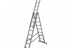 Лестницы трёхсекционные, высота 10 - 11м ldZJ