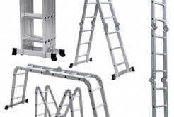 Лестницы трансформеры (четырех секционные) высота до 4,7 м l7Er