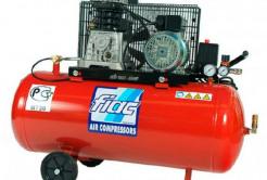 Компрессор FIAC АВ 335л/мин, давление 10бар, бак 100л 2ov4