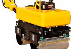 Вібраційний коток ROADWAY 840кг, сила ущільнення 2,4 тонни jgOq
