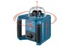 Ротационный нивелир Bosch дальность 300м, Точность ± 0,1 мм/м l55Y