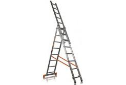 Лестница трёхсекционная, высота 11м MP6v