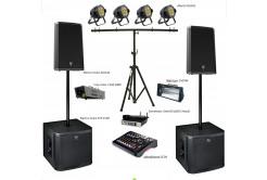 Комплект звука Big party / звуковое оборудование 11zp