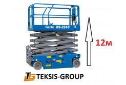 Ножничный подъемник Genie 12м электро 8ANq