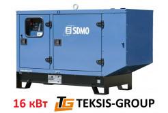 Дизельный генератор 16 кВт | электростанция SDMO J22 Ry6Y