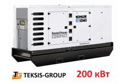 Дизельный генератор 200 кВт | электростанция SDMO R275C3 8Jwa