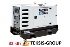 Дизельный генератор 32 кВт | электростанция SDMO R44C3 4mB6