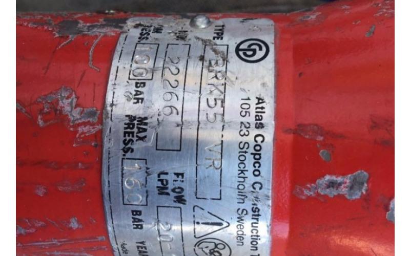 Відбійний молоток гідравлічний Chicago Pneumatic BRK 55 VR + станція PAC P9 2zv2