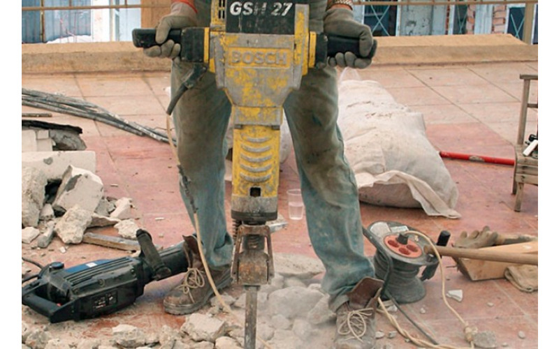 Молоток отбойный, бетонолом Bosch GSH 27 60 Дж 1,9 кВт jW9l