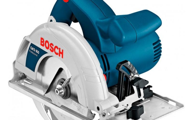 Пила дисковая (паркетная) Bosch Диск160мм, глубина пропила 65мм 3kdn