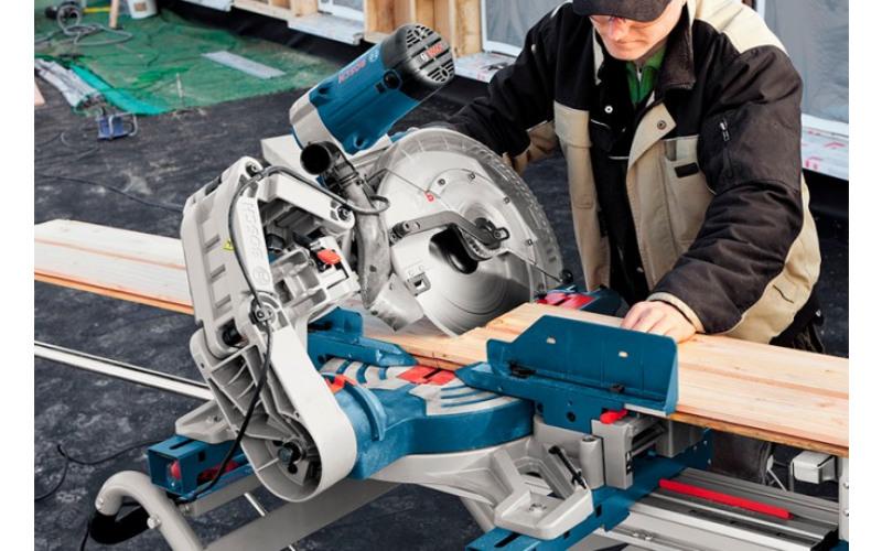 Торцювальна пила Bosch GCM 12 Диск 305мм, глибина пропилу 110мм lpRX