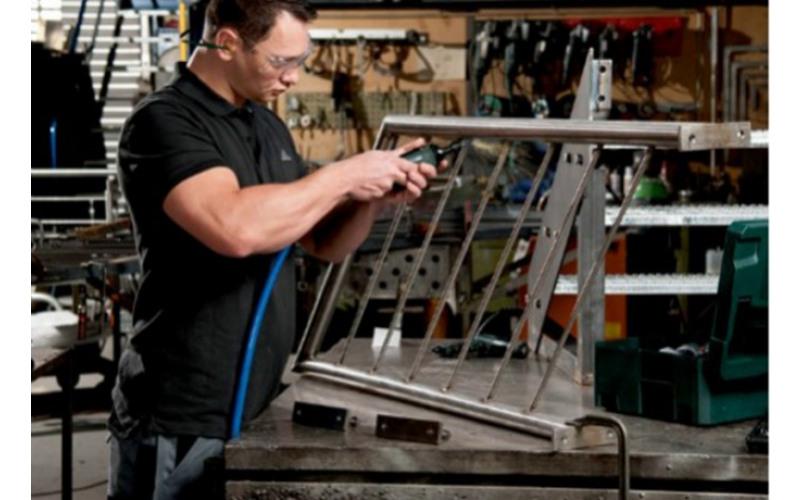 Прямая шлифовальная машина BJ-6025B рабочая поверхность 50мм 3eRB