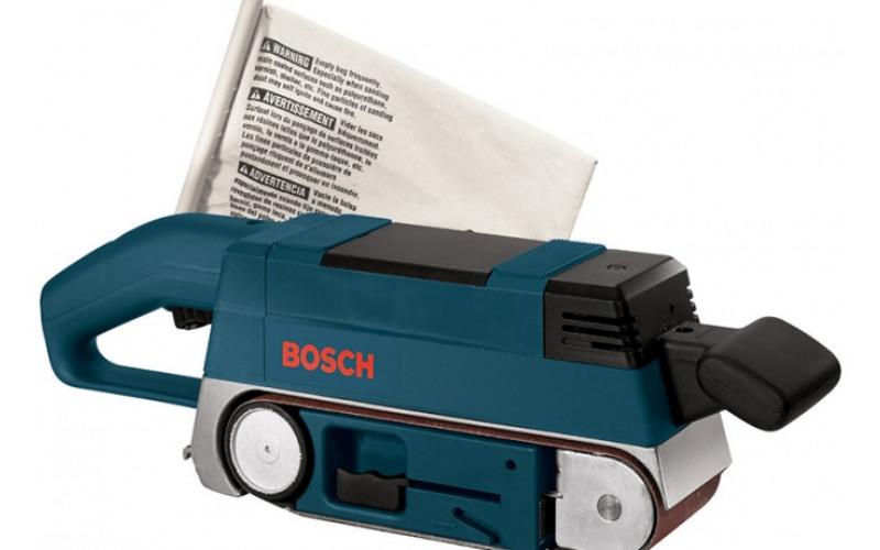 Ленточная шлифмашина Bosch GBS 75 AE, лента 533*75 3JDO