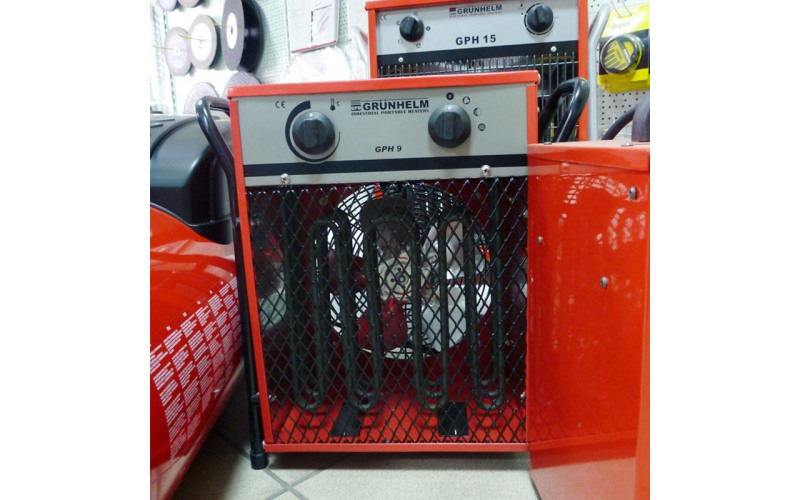 Электронагреватель Grunhelm 9 кВт, 13кг lkQ5