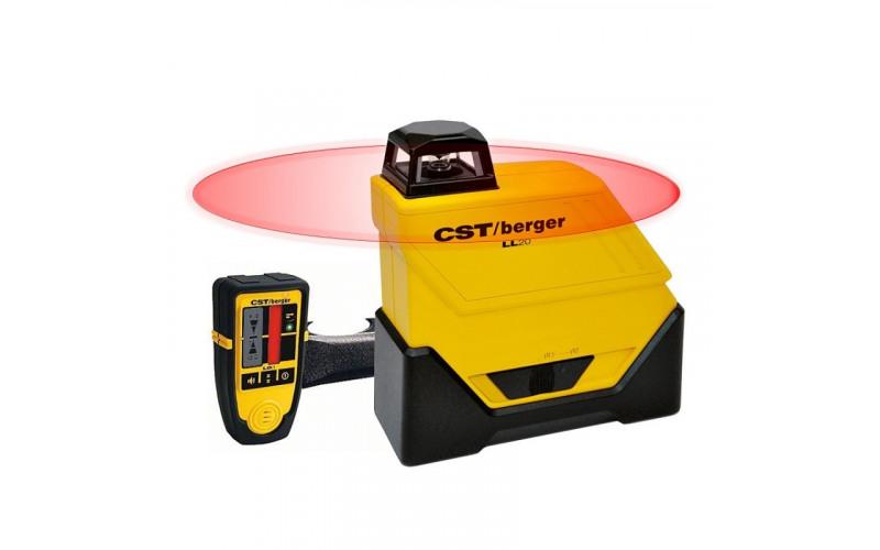 Лазерный нивелир CST/Berger LL 20 SET диапазон 80м, ТОЧНОСТЬ ± 0,1 ММ/М 2evX