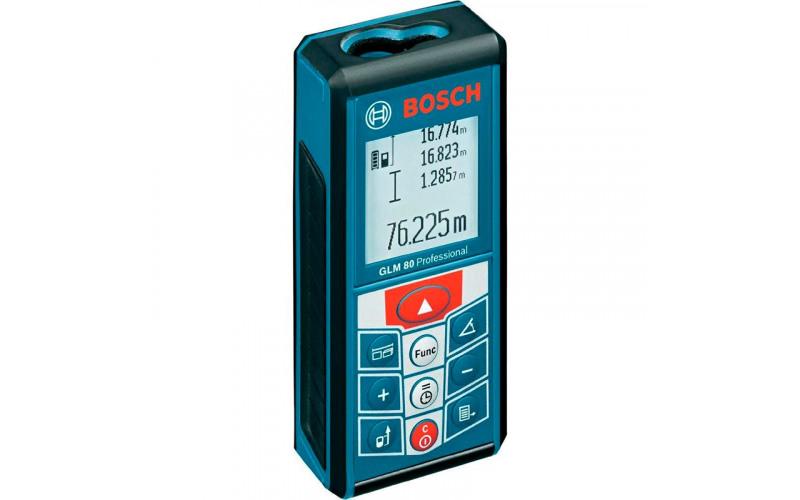 Угломер лазерный Bosch GLM 80 j1w7