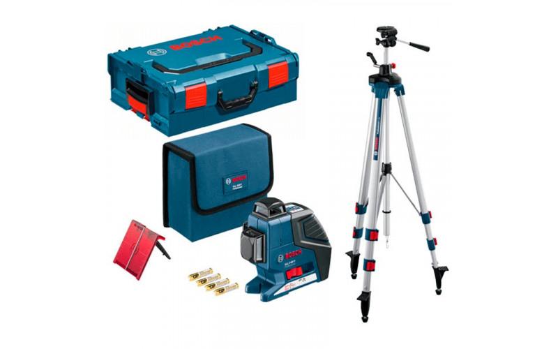 Нивелир лазерный Bosch GLL 3-80 Диапазон 80м, ТОЧНОСТЬ ± 0,1 ММ/М 3BrY