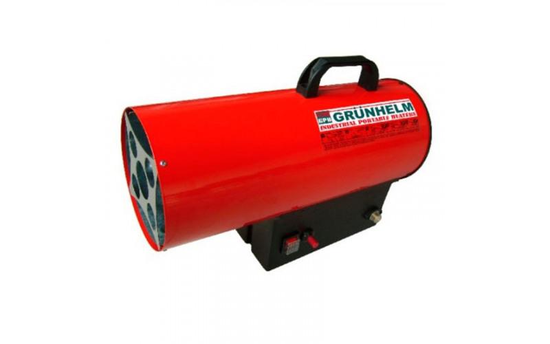 Газовий нагрівач Grunhelm 15кВт, 5кг jgvE