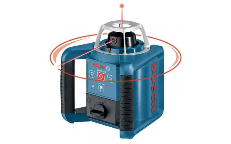 Ротаційний нівелір Bosch дальність 300м, Точність ± 0,1 мм/м l55Y
