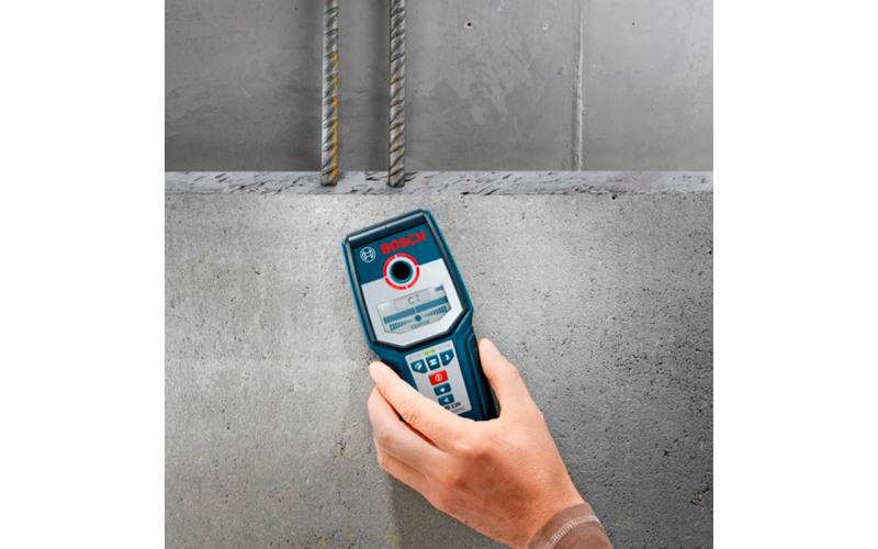 Детектор прихованої проводки Bosch 120, Макс. глибина виявлення 120 мм 2BwM