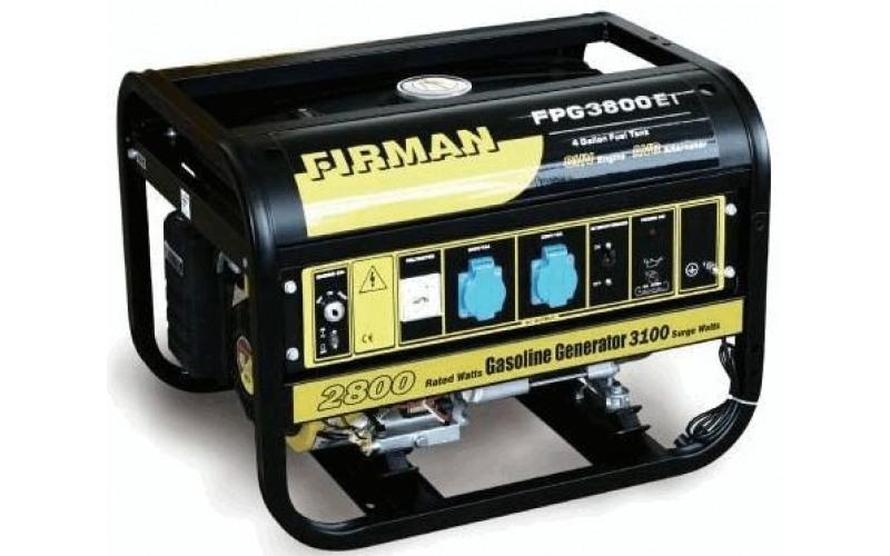 Бензиновый генератор  FIRMAN FPG 3800, (2,8 кВт) 2nvJ
