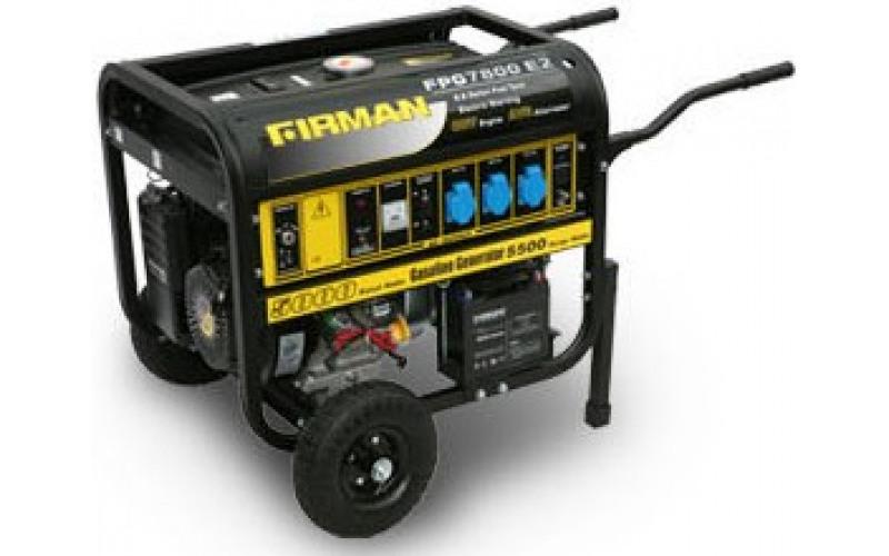Бензиновый генератор FIRMAN FPG 7800, (5,5 кВт) lBBM