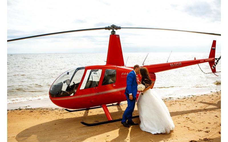 Вертолет для свадьбы вертолет на свидание k7a8