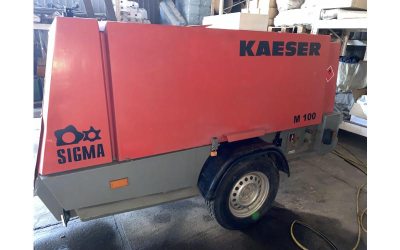 компрессор дизельный передвижной KAESER M100 ndkz