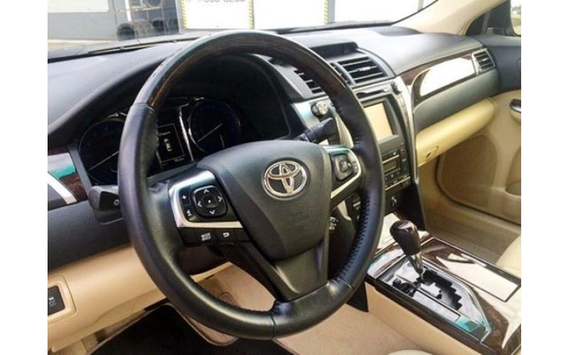 Toyota Camry V55 черная 2016 k7n0